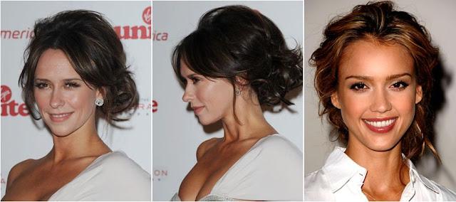 Fashion magazine celebrity inspired wedding hair katie cassidy hilary duff amy adams junglespirit Image collections