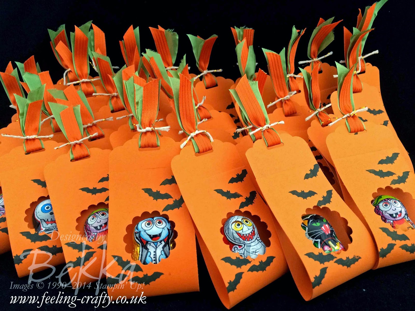 Halloween Treats - Stampin' Up! Style - check out lots of ideas here