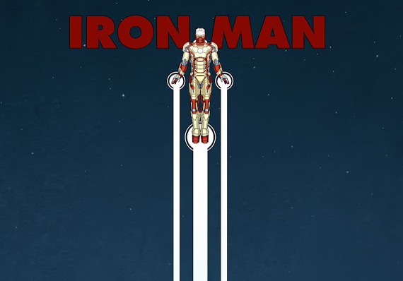 Iron Man 3: Awesome Poster by Matt Ferguson