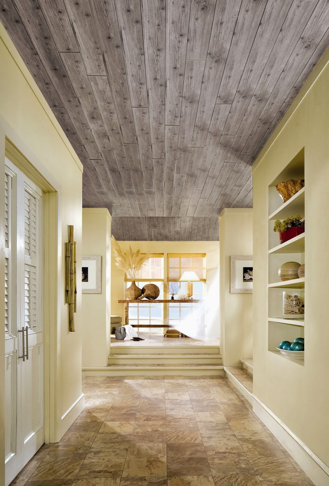 How To Hide Popcorn Ceilings Dans Le Lakehouse