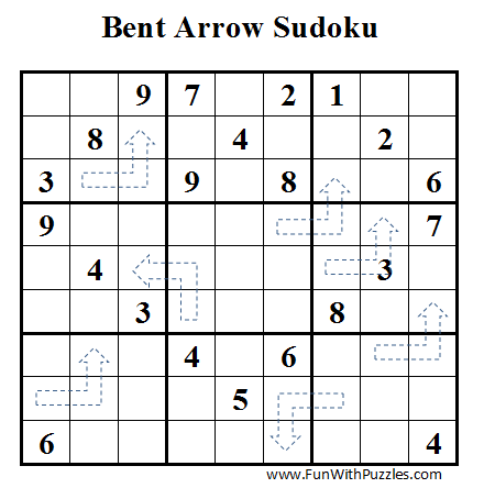 Bent Arrow Sudoku (Daily Sudoku League #37)
