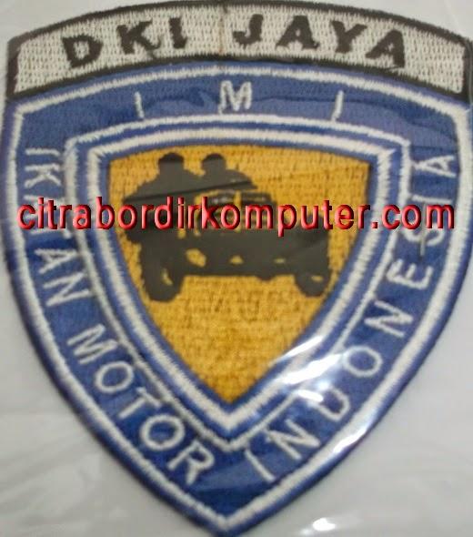 logo atribut bordir komputer IKATAN MOTOR INDONESIA