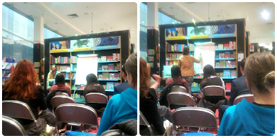 Oliver Jeffers at Waterstones