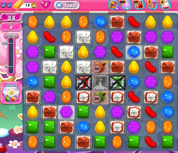 Candy Crush Saga 1183