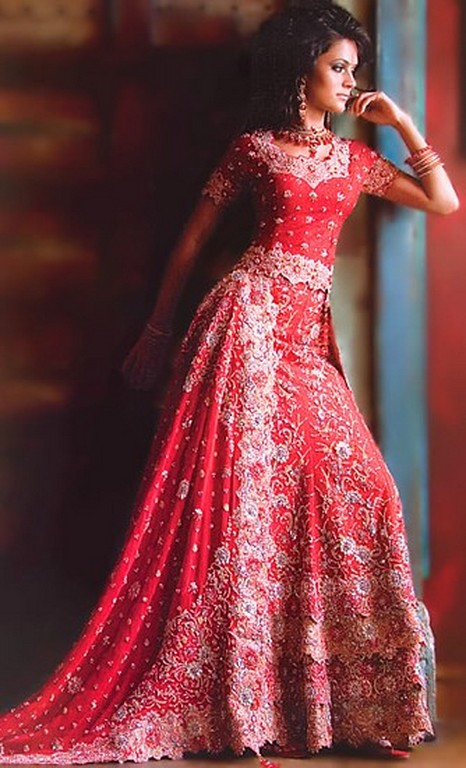 Red Asian Wedding Dress