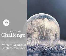 Bastel Traum Challenge - #71winter/ christmas