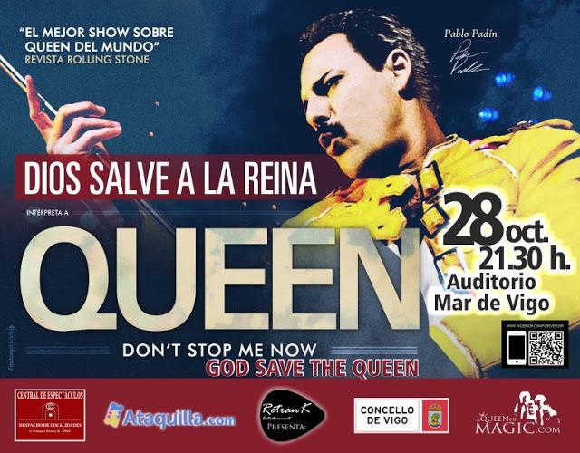 Tributo a Queen en Vigo