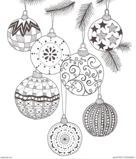 Ideia 7/30 para Natal 2015 - Motivos natalinos, para imprimir, pintar, bordar...