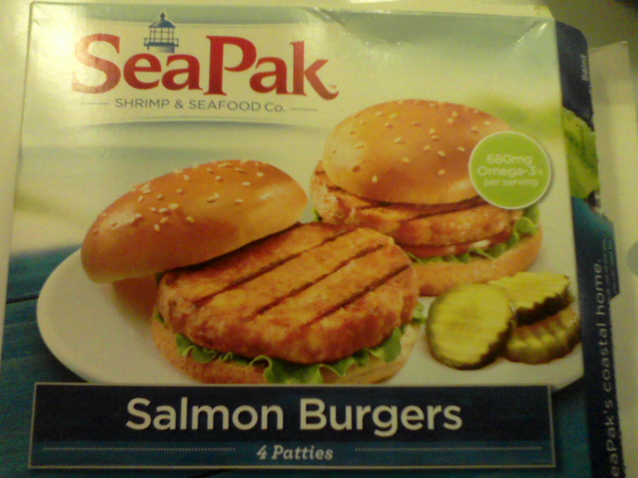 CT on a budget: Product review: Sea Pack salmon burgers