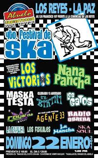 4 Festival de Ska en Los Reyes La Paz