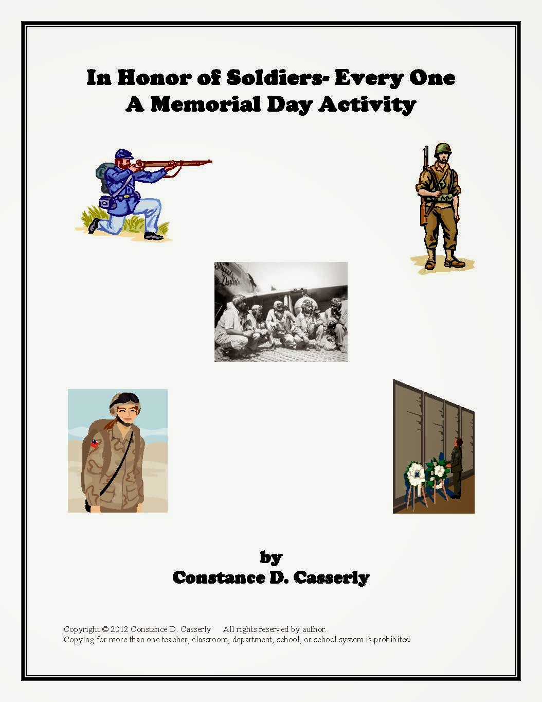 In Honor of Soldiers-Every One: A Veteran's or Memorial Day Project