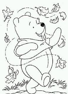 Dibujos de Winnie Pooh para Pintar, parte 4