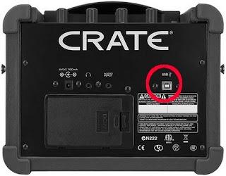 amplificador para guitarra crate