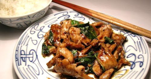 Body-Buildin.com: Thai Basil Chicken Stir-Fry Recipe