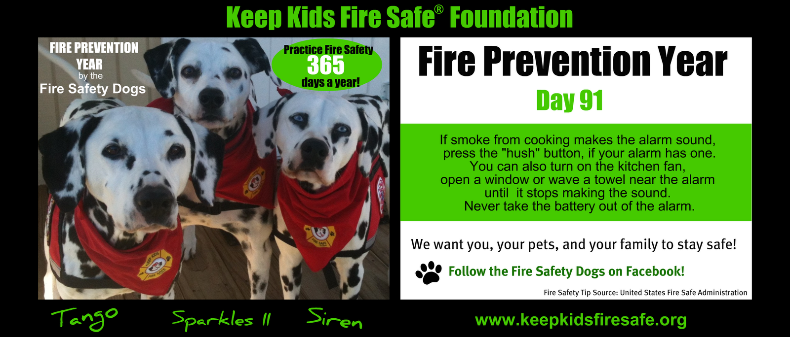 Fire Safety Tip 91 365