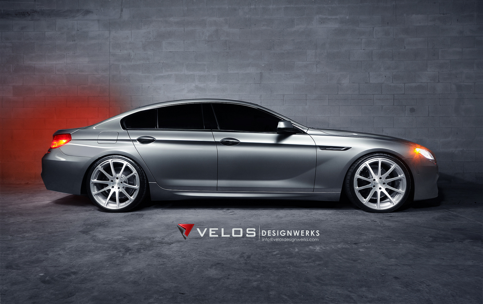 bmw 6 series gran coupe by velos designwerks. Black Bedroom Furniture Sets. Home Design Ideas