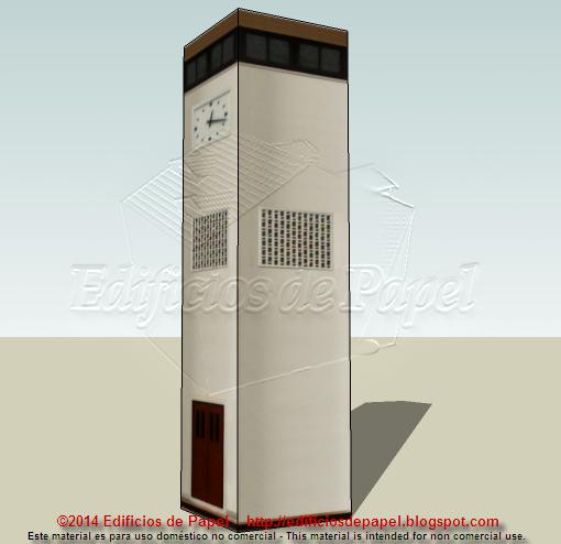 1548 paper model - Edificios de Papel