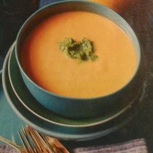 pumpkin white bean soup