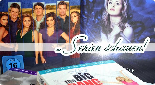 Kuscheliger Herbst - Egal ob Buffy, Simpsons oder Hannibal - ich schau' sie alle!