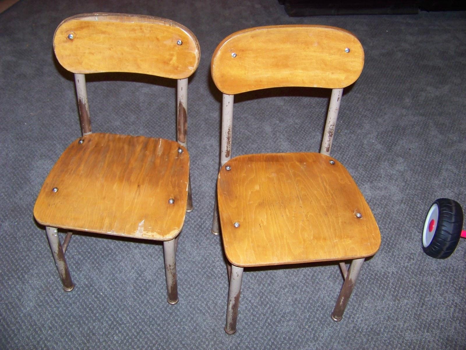 the sunset lane little green school chairs