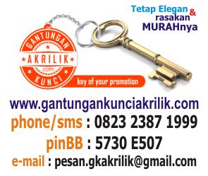 Kontak Gantungan Kunci Akrilik 99