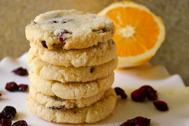 Bakergirl: Cranberry-Orange Cookies.