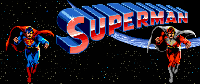 Superman - 1988 coin op title