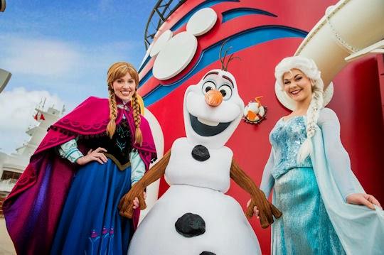 Anna, Olaf and Elsa join Disney Cruise Line