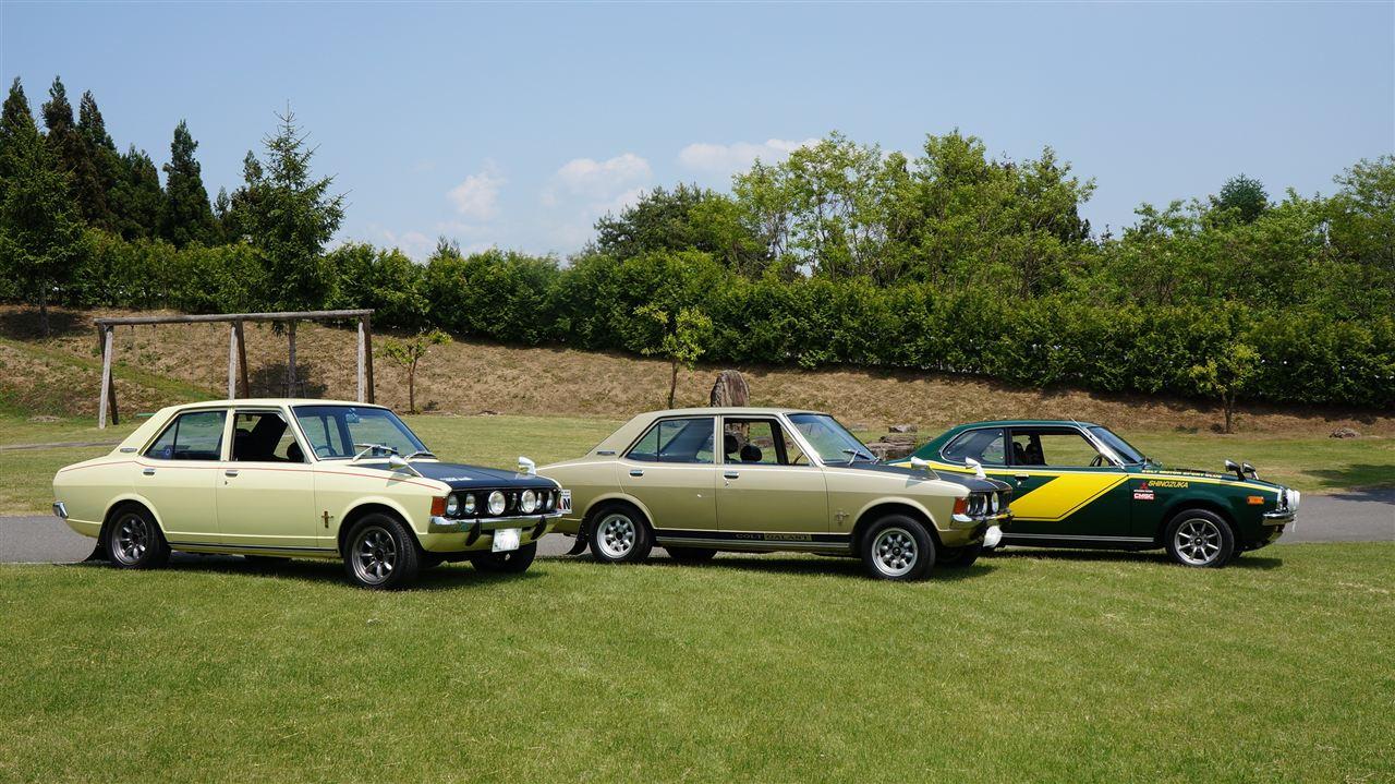 Mitsubishi Colt Galant & Lancer, stare samochody