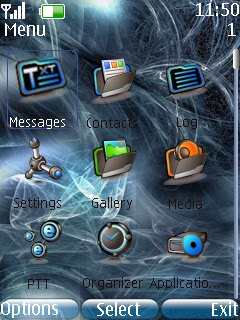 Tema Nokia  smokey