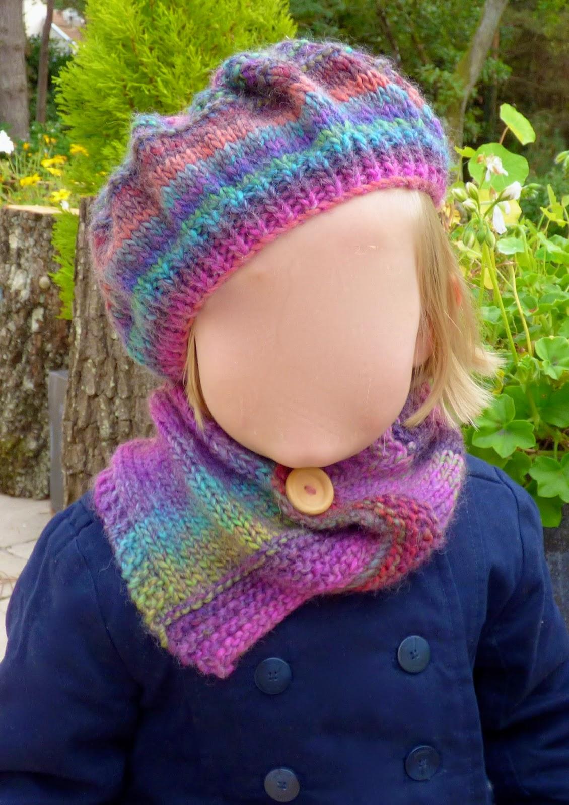 Une semaine paris for t tricoter un col asym trique et un b ret niveau d butant - Tricoter un plaid debutant ...