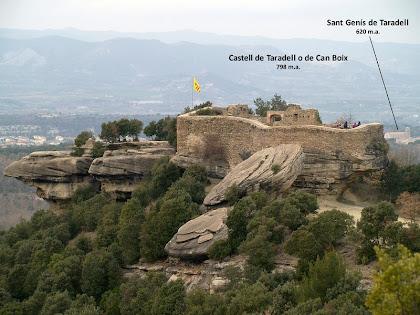 El Castell de Taradell o de Can Boix