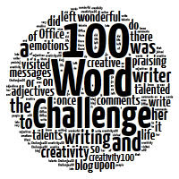 We are part of the 100 Word Challenge!