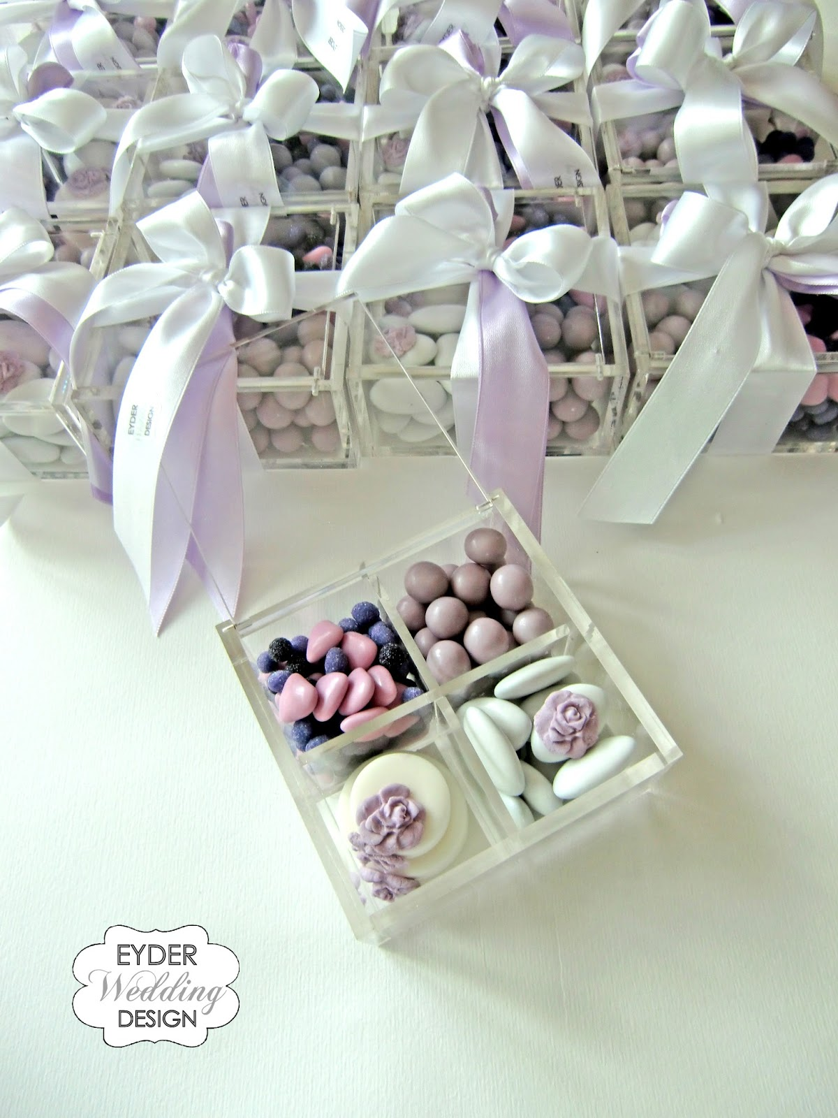 Connu EYDER Wedding DESIGN: Scatole degustazione e bomboniere in plexiglass VF99