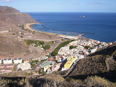 Localidad de San Andrés (Tenerife)