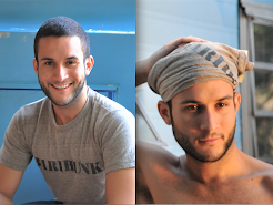 Look as sexy as Xavier Edgardo in your own barihunk tee shirt