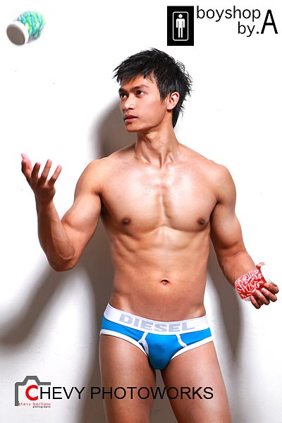 Dicky Ramdhani Hottest asian Male Model