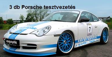 Porsche-tesztvezetés