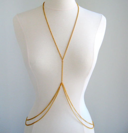 Accessorizing with a DIY Body Chain. image