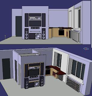 Первоначальный проект квартиры