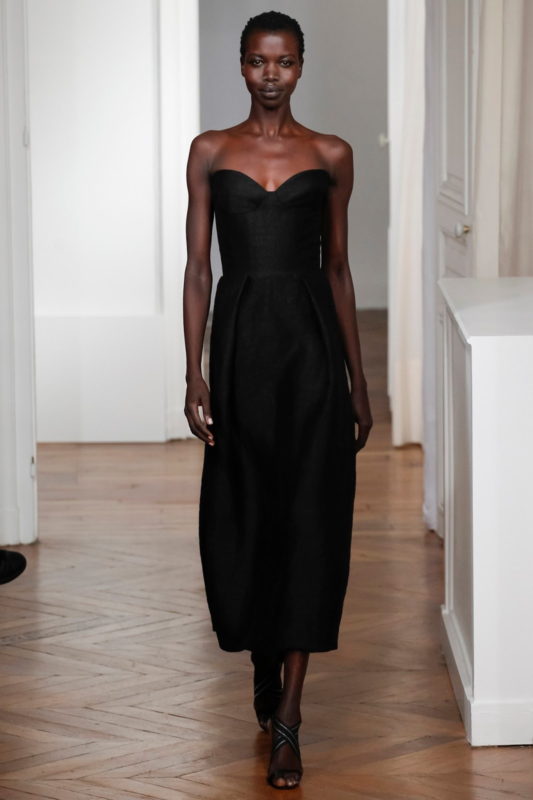 Martin Grant Spring/Summer 2016 via www.fashionedbylove.co.uk fashion and style blog