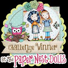 Paper Nest Dolls - November