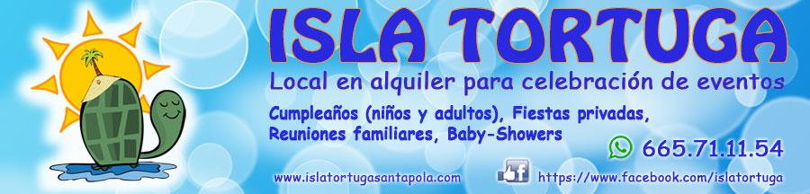 Isla Tortuga Local alquiler eventos Parque de bolas