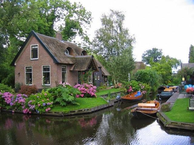 Giethoorn, un pueblo sin carreteras