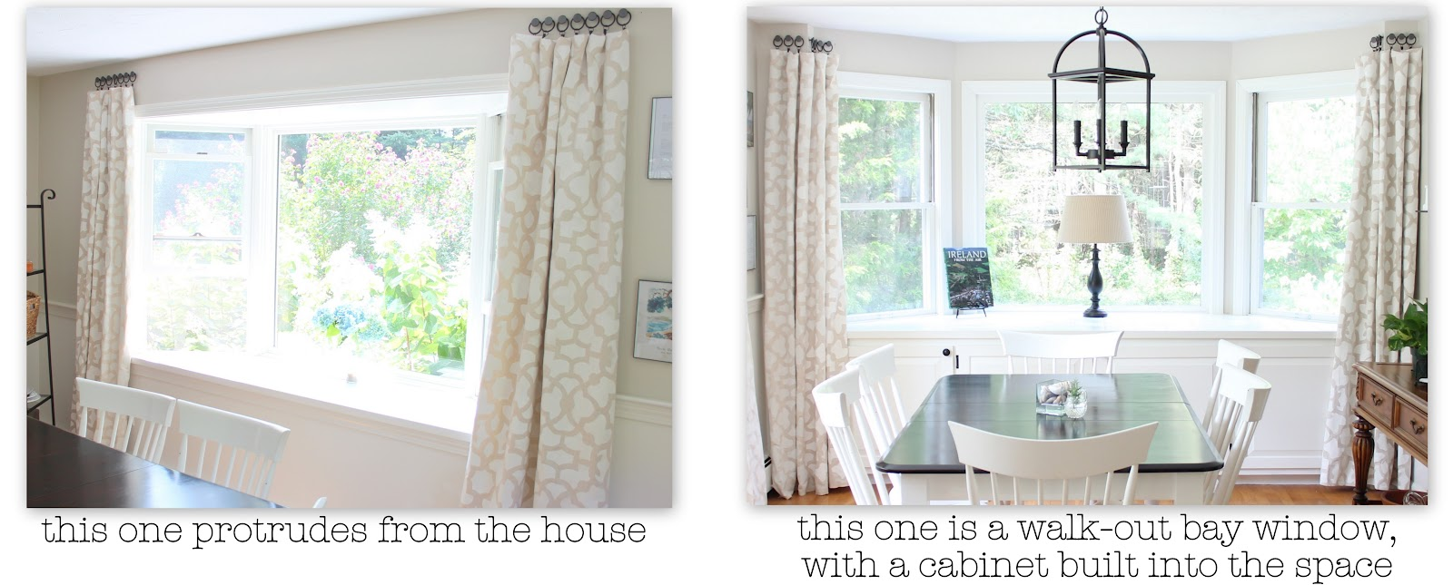 Inspirations For Bay Window Dressing - Shine Your Light