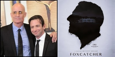 Foxcatcher written by E. Max Frye and Dan Futterman, nominated for Best Orignal Screenplay Academy Award