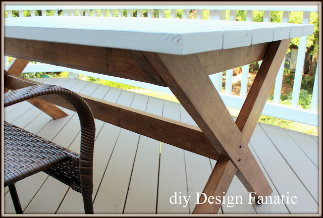 diy picnic table, Kreg jig, Behr deck stain