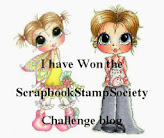 Scrapbook Stamp Society Winner