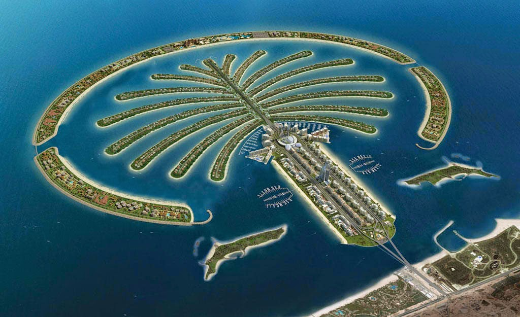 Palm Islands (islas palmera)