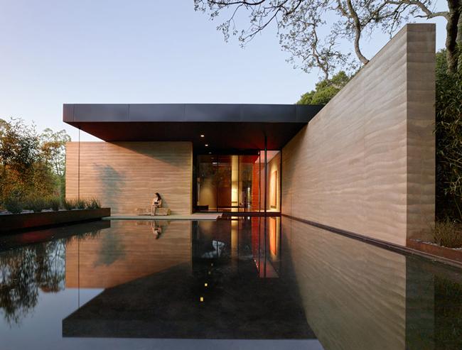 Casas minimalistas y modernas fachadas actuales for Casas actuales modernas